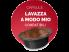 Gallery: MIX 80 CAPSULE CAFFÈ BORBONE DON CARLO - 20 MISCELA NERA - 20 MISCELA ROSSA - 20 MISCELA BLU - 20 MISCELA ORO - COMPATIBILI A MODO MIO con 1 ESCLUSIVO PORTACHIAVI EUROCHIBI®