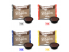 Gallery: MIX 400 CAPSULE CAFFÈ BORBONE DON CARLO - 100 MISCELA NERA - 100 MISCELA ROSSA - 100 MISCELA BLU - 100 MISCELA ORO - COMPATIBILI A MODO MIO