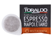 CAFFÈ TORALDO - MISCELA CREMOSA - Box 50 CIALDE ESE44 da 7g