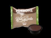 CAFFÈ BORBONE DON CARLO - MISCELA VERDE / DEK - DECAFFEINATO - Box 50 CAPSULE COMPATIBILI A MODO MIO da 7.2g