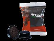 CAFFÈ TORALDO - CREMOSA - Box 100 CAPSULE COMPATIBILI A MODO MIO da 7g