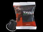 CAFFÈ TORALDO - CREMOSA - Box 100 CAPSULE COMPATIBILI NESPRESSO da 5.5g