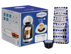 CAFFÈ BARBARO - CREMOSO NAPOLI - Box 50 CAPSULE COMPATIBILI DOLCE GUSTO da 7g