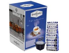 CAFFÈ BARBARO - CREMOSO NAPOLI - Box 100 CAPSULE COMPATIBILI DOLCE GUSTO da 7g