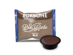 CAFFÈ BORBONE DON CARLO - MISCELA BLU - Box 50 CAPSULE COMPATIBILI A MODO MIO da 7.2g