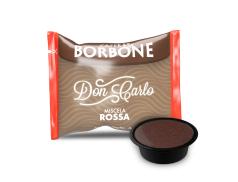 CAFFÈ BORBONE DON CARLO - MISCELA ROSSA - Box 50 CAPSULE COMPATIBILI A MODO MIO da 7.2g