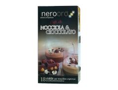 CAFFÈ NOCCIOLA & CIOCCOLATO NEROORO NOCCIOLATO - Box 18 CIALDE ESE44