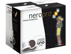 CAFFÈ NEROORO - MISCELA ORO - Box 50 CAPSULE COMPATIBILI UNO SYSTEM da 5.5g