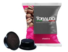 CAFFÈ TORALDO - CLASSICA - Box 100 CAPSULE COMPATIBILI A MODO MIO da 7g