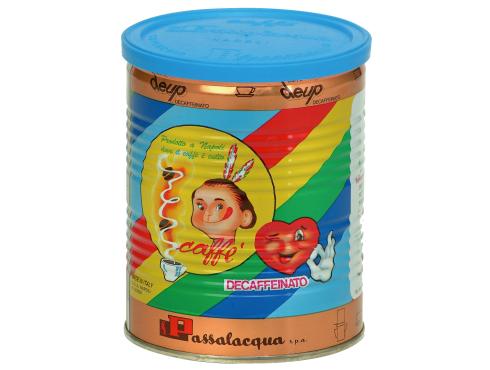 CAFFÈ PASSALACQUA DEUP - DECAFFEINATO - LATTINA 250g MACINATO