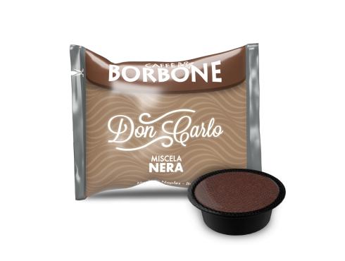 CAFFÈ BORBONE DON CARLO - MISCELA NERA - Box 100 CAPSULE COMPATIBILI A MODO MIO da 7.2g