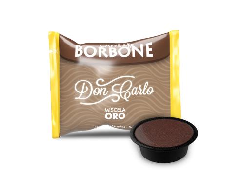 CAFFÈ BORBONE DON CARLO - MISCELA ORO - Box 50 CAPSULE COMPATIBILI A MODO MIO da 7.2g