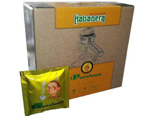 CAFFÈ PASSALACQUA HABANERA - GUSTO CORPOSO - Box 50 CIALDE ESE44 da 7.3g