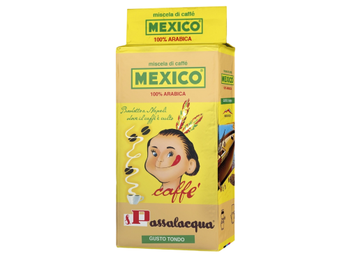 CAFFÈ PASSALACQUA MEXICO - GUSTO TONDO - 100% ARABICA - PACCHETTO 250g MACINATO