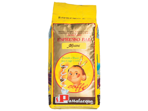 CAFFÈ PASSALACQUA MOANA - ESPRESSO BAR - PACCO 1Kg IN GRANI