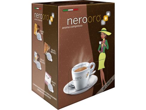 CAFFÈ NEROORO - MISCELA BRONZO - Box 50 CIALDE ESE44 da 7.2g