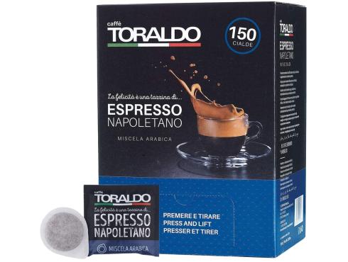 CAFFÈ TORALDO - MISCELA ARABICA - Box 150 CIALDE ESE44 da 7g