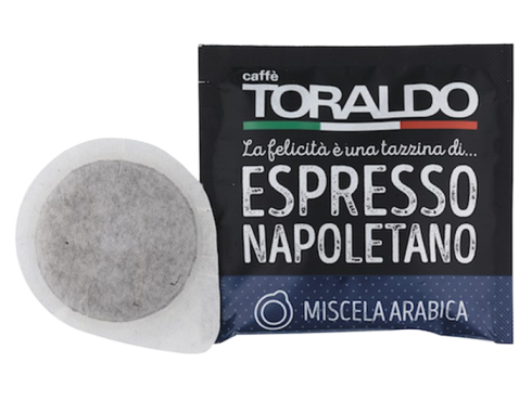 CAFFÈ TORALDO - MISCELA ARABICA - Box 50 CIALDE ESE44 da 7g