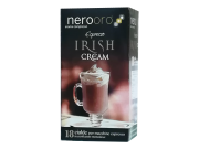 COFFEE IRISH CREAM NEROORO - Box 18 PODS ESE44