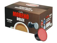 CAFFÈ MORENO DOLCE - ESPRESSO BAR - Box 50 CÁPSULAS COMPATIBLES DOLCE GUSTO 7g