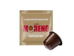 CAFFÈ MORENO NEX - ESPRESSO BAR - Box 100 CÁPSULAS COMPATIBLES NESPRESSO 7g