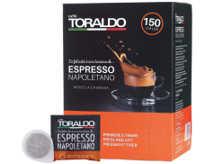 CAFFÈ TORALDO - MISCELA CREMOSA - Box 150 VAINAS ESE44 7g
