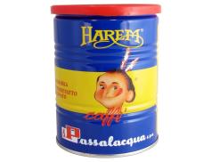 KAFFEE PASSALACQUA HAREM - GUSTO UNICO - 100% ARABICA - ZINN 250g GEMAHLENER
