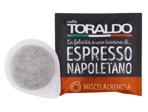 CAFFÈ TORALDO - MISCELA CREMOSA - Box 50 PADS ESE44 7g
