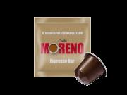 CAFFÈ MORENO NEX - ESPRESSO BAR - Box 100 CAPSULES COMPATIBLES NESPRESSO 7g