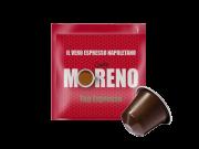 CAFFÈ MORENO NEX - TOP ESPRESSO - Box 100 CAPSULES COMPATIBLES NESPRESSO 7g