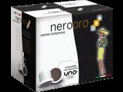 CAFÉ NEROORO - MISCELA ORO - Box 50 CAPSULES COMPATIBLES UNO SYSTEM 5.5g