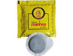 CAFÉ PASSALACQUA MANHOA - GUSTO VELLUTATO - Box 150 DOSETTES ESE44 7.3g