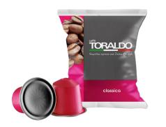 CAFFÈ TORALDO - CLASSICA - Box 100 CAPSULES COMPATIBLES NESPRESSO 5.5g